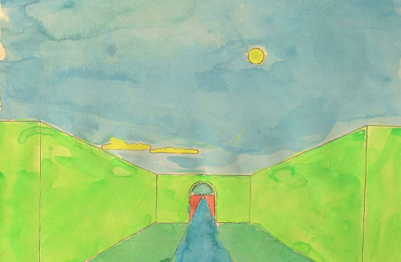 early painting (1985-1986)